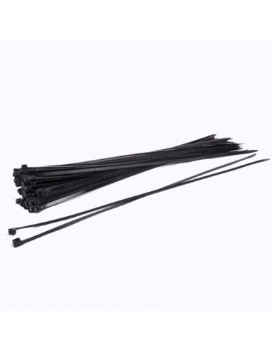 Kabelbinder 250x7,6mm zwart